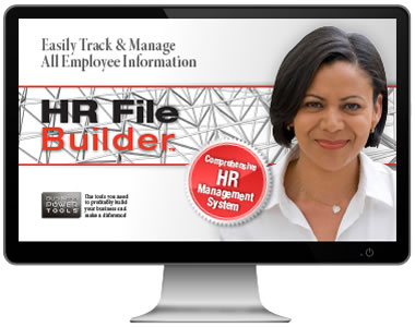 employee files record keeping data database HR software system jian