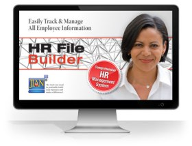 HR File Builder employee data record keeping software database