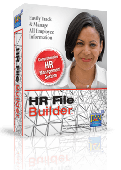 HR File Builder employee records data tracking database non not for profit
