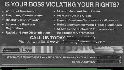 employee lawsuit complaint