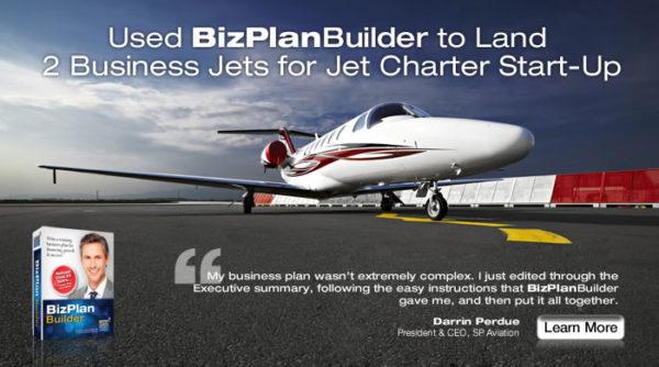 aviation startup funding business plan software template