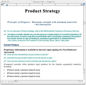 Business Plan Templates For Macintosh - Business plan for investors template