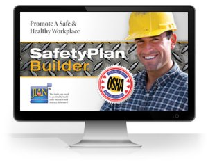 osha safety training plan manual handbook software template word cloud
