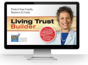JIAN Living Trust Builder estate planning living trust software template for business owners