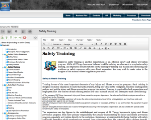 osha safety training injury and illness prevention handbook software template