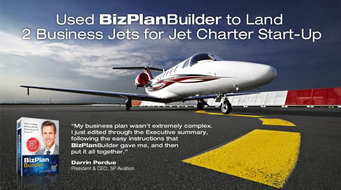 BizPlanBuilder Success Story - aviation
