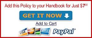 social media policy HR employee handbook manual software template online