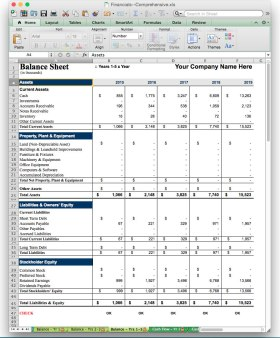business plan software jian excel balance sheet template