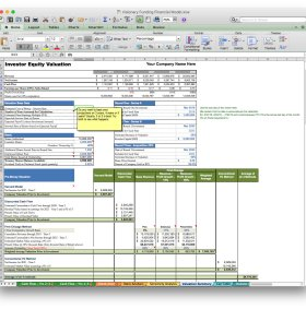 jian business plan software excel template valuation