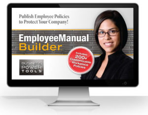 HR management employee policies manual policy handbook software template online cloud word