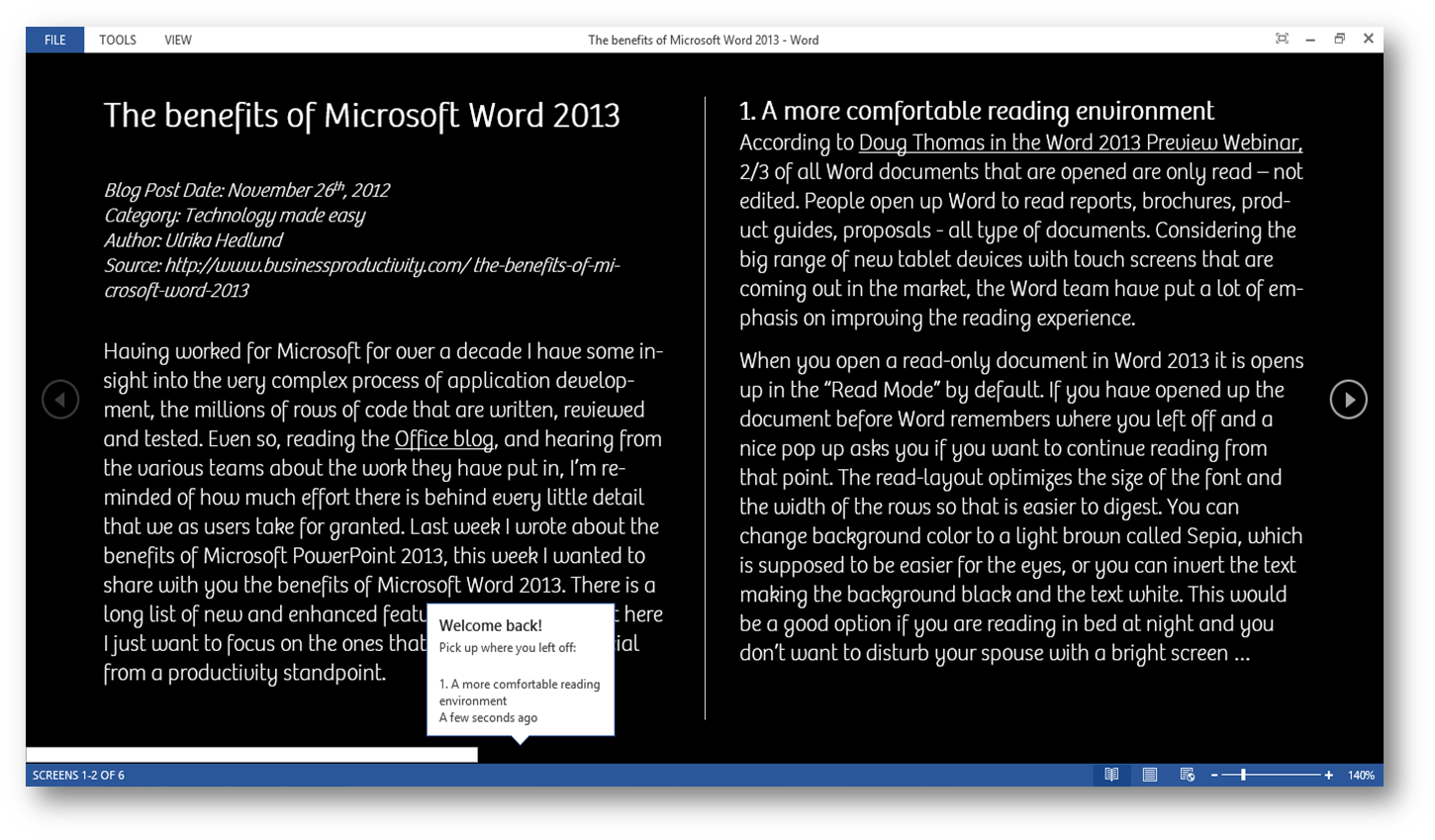 What Is New In Microsoft Word And How Can I Benefit