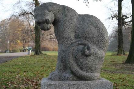 Pantera negra de Pawel Weselow (URSS), 1973.