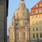 The reconstructed Frauenkirche 2005.