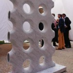Sistema per muri di Corcione & Tinucci. Prodotto da Anzilotti.