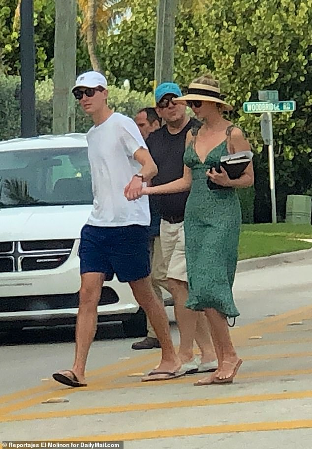 Ivanka Trump rang in the holiday on Christmas Day by heading out  near her Palm Beach Estate