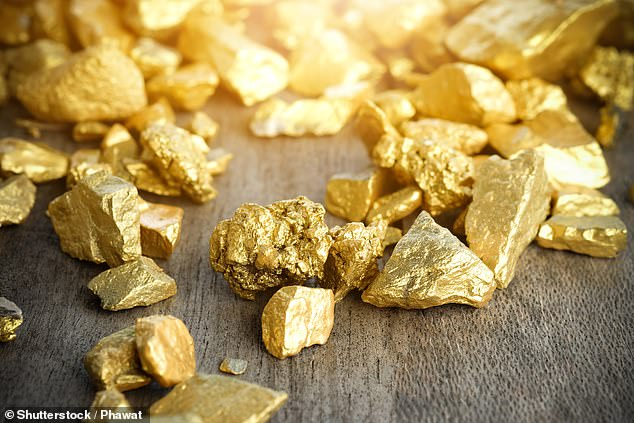 Gold did well over the festive season -amid fears that global stock markets were in decline