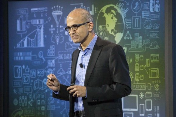Microsoft's Satya Nadella ranked as best CEO in US