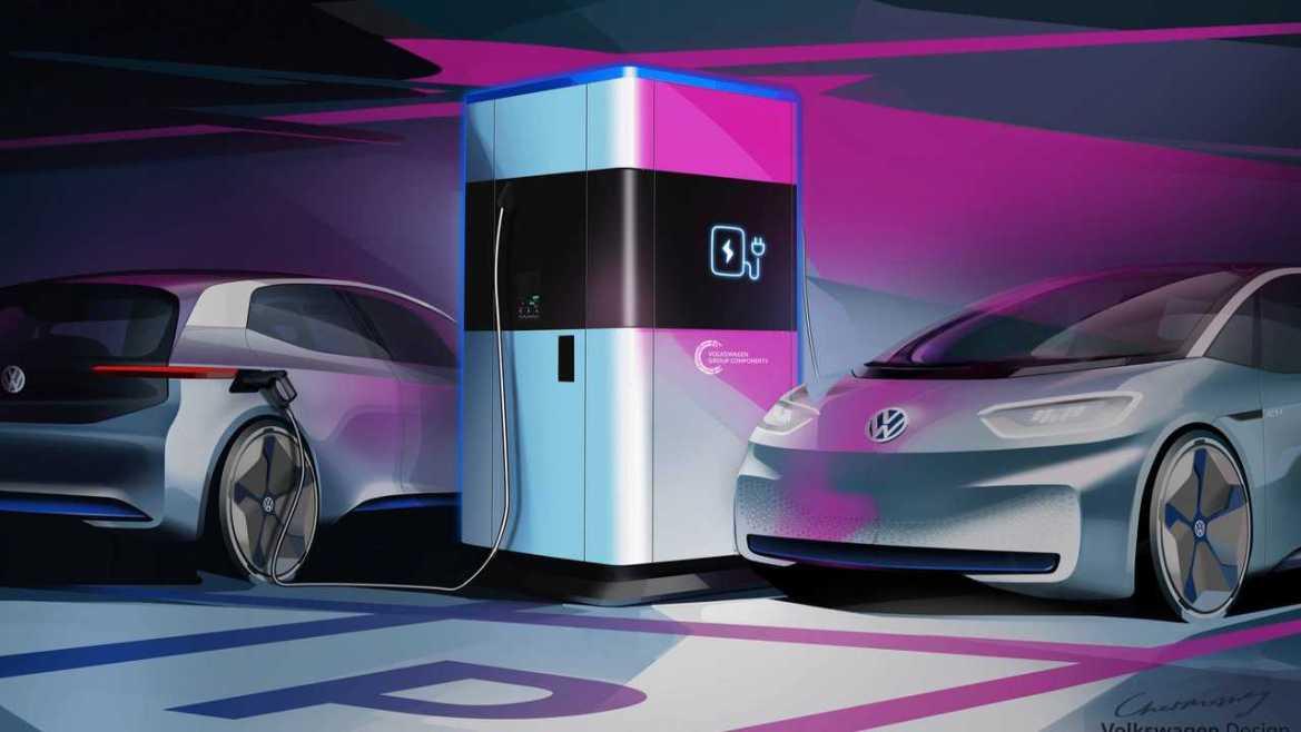 volkswagen powerbank electric car