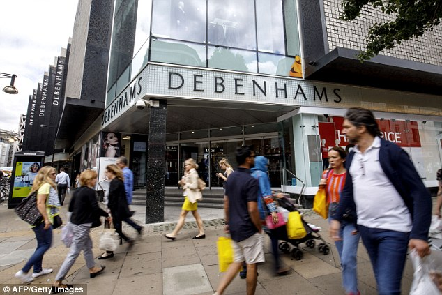 Mixed bag:Debenhams continues to struggle, but Tesco did well