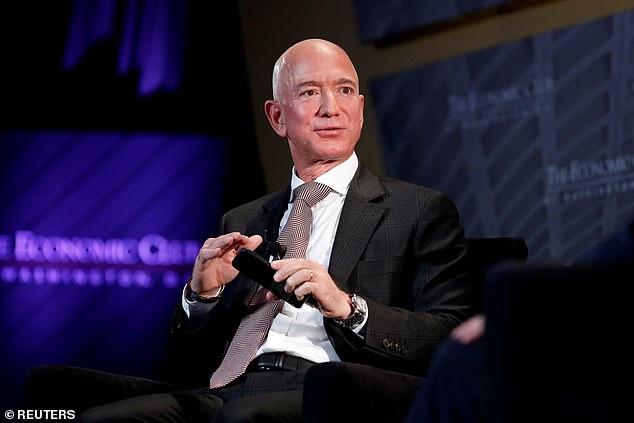 Amazon spent approximately $1.6million on protection for Jeff Bezos