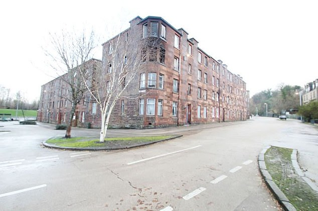 This one-bedroom flat in Scotland's Port Glasgow is currently for sale for £5,500