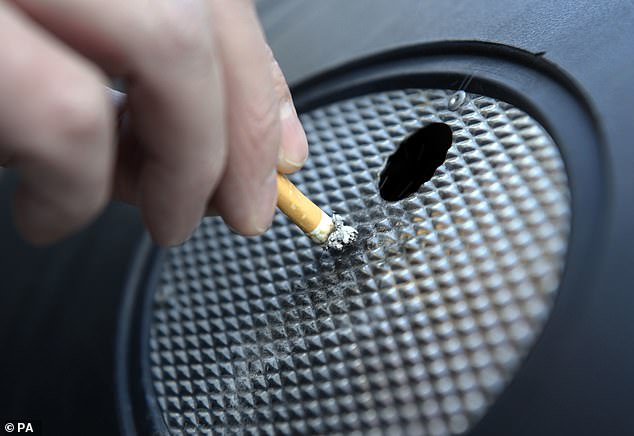 Researchersfound stark differences in smoking rates between groups, with smoking much higher among poor, non-white Americans