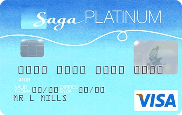 Axed: The Saga Platinum card could be used abroad without incurring charges