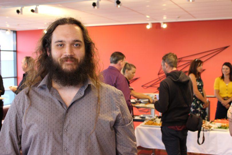 William Sharples, Eden Gaming Development Centre. Photo: Ian Campbell.