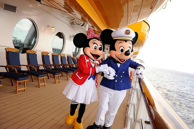 Oh Mickey!:Disney characters help to entertain the cruise line passengers