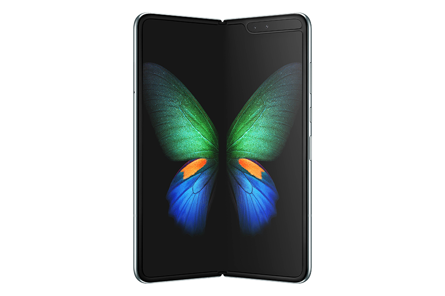 Download the Samsung Galaxy Fold's wallpapers and video live