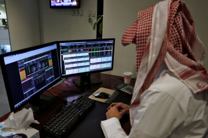 © Reuters.  Saudi Arabia shares higher at close of trade; Tadawul All Share up 0.47%
