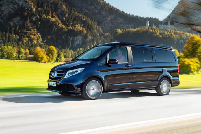 Mercedes-Benz V-Class 300d Marco Polo 2019 review