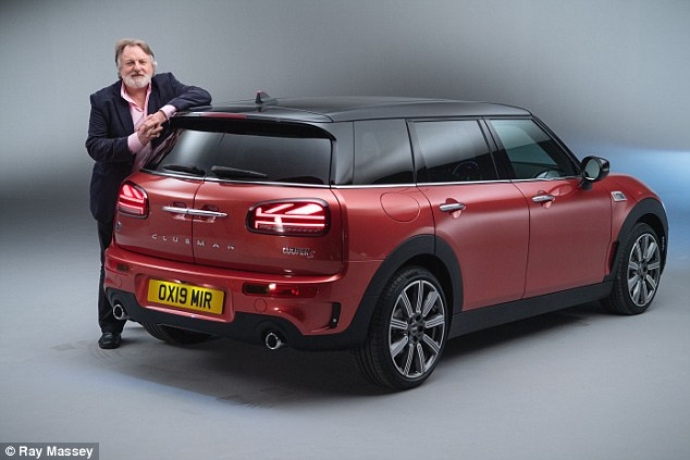 Ray Massey also got to have an early crawl round the new Mini Clubman ahead of its sale this month. The car maker celebrates its 60th birthday this year