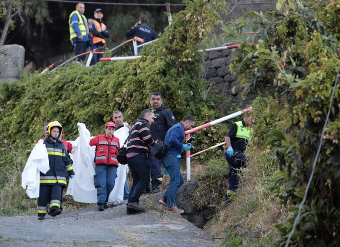 At least 28 killed in Madeira tourist bus accident - BusinessTelegraph