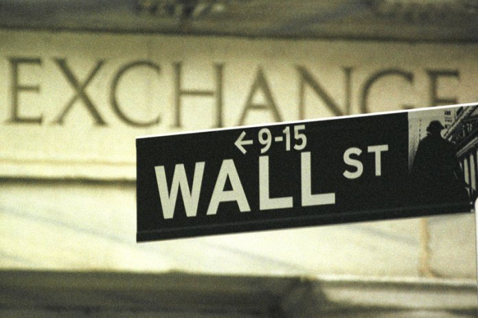 U.S. shares lower at close of trade; Dow Jones Industrial Average down 1.41%