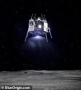 Blue Origin unveiled its lunar lander during a secretive event in May