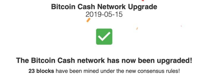 Bitcoin Cash Protocol Successfully Upgrades — Schnorr Signatures Are Here