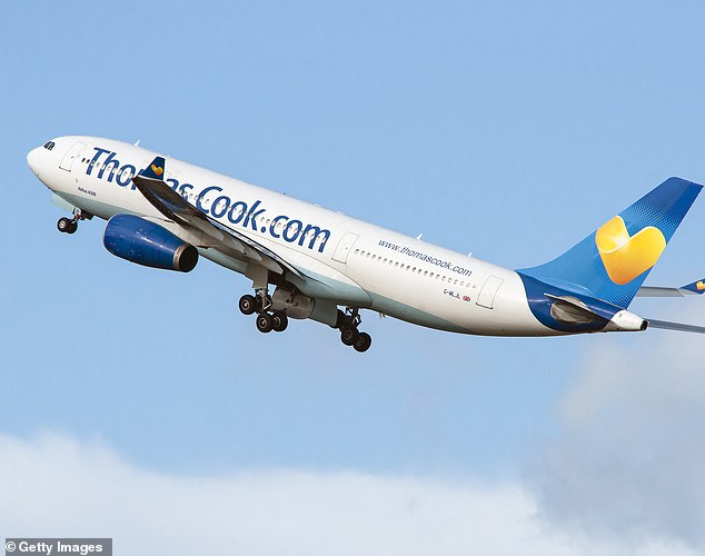Up for sale:Thomas Cook also revealed today that 'multiple' bids had been made for all or part of its airline arm, which was put up for sale back in February