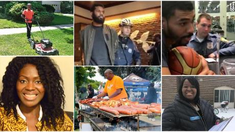 There have been dozens of recent incidents in which police have been called on black people going about their daily lives.