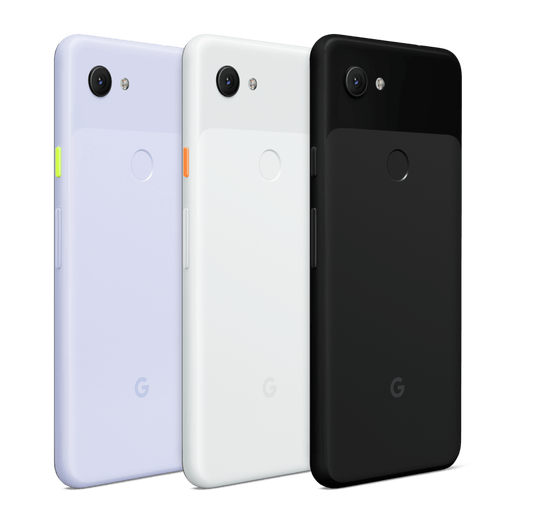 The Google Pixel 3a comes in a choice of either Just Black, Purple-ish and Clearly White (Google)