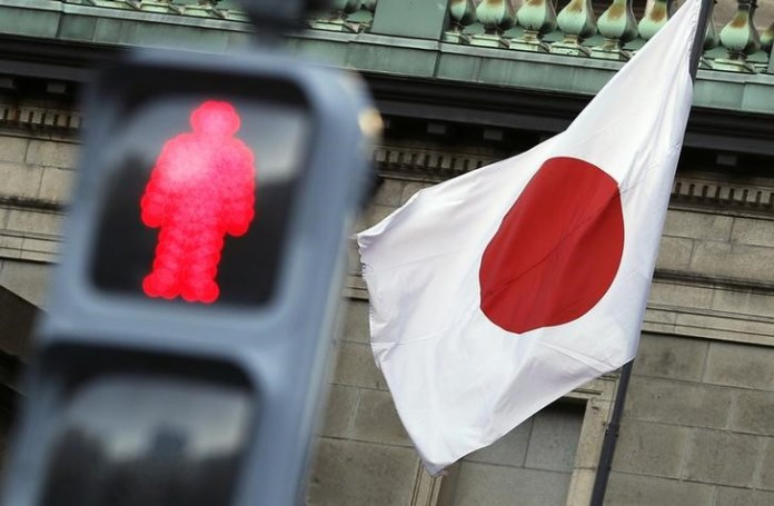 © Reuters.  Japan Megabanks See Challenging Year as Profit Drivers Wane