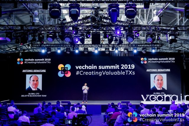 The VeChain Summit in San Francisco last month