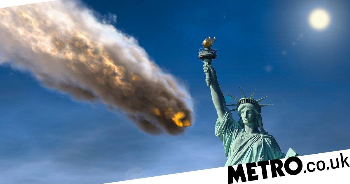 An asteroid as big as the Statue of Liberty could hit ...