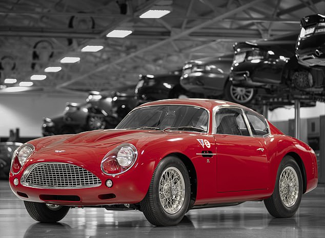 For £7.2m Aston Martin will sell you a recreated 1960 Aston Martin DB4 GT Zagato (pictured) as well as a 200mph plus DBS GT Zagato to be launched next year
