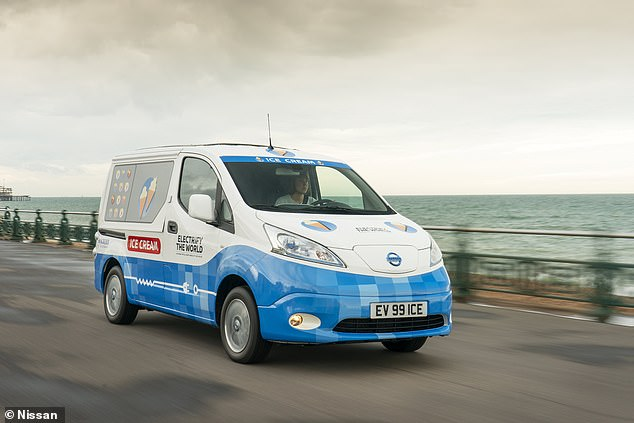 The van has been unveiled for Clean Air Day in the UK, which raises awareness of reducing emissions