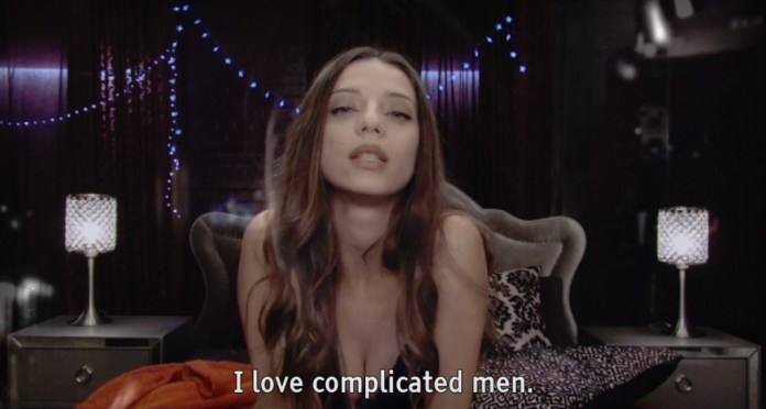 Angela Sarafyan is one of the stars of Telling Lies.