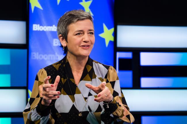 © Bloomberg. Margrethe Vestager Photographer: Geert Vanden Wijngaert/Bloomberg
