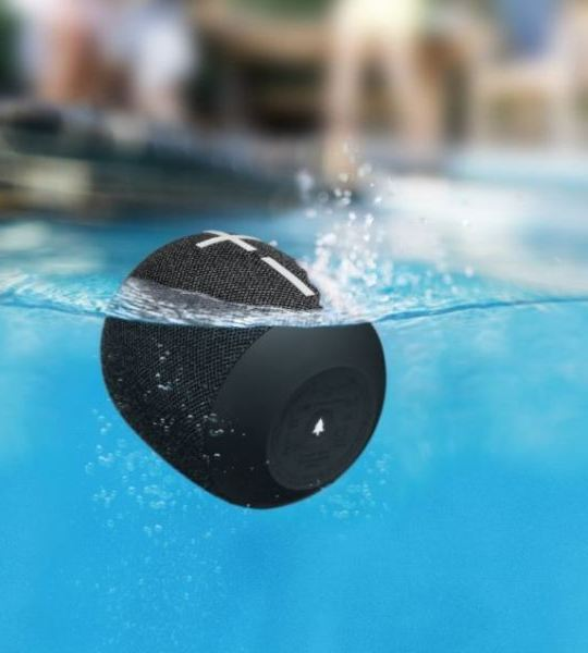 The WonderBoom 2 is IP67 water and dust proof and floats in water (IE)