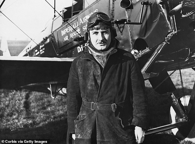 History:The company was founded in 1935 by Sir Alan Cobham (pictured), an aviation pioneer who is thought to have been the inspiration for the fictional fighter pilot Biggles