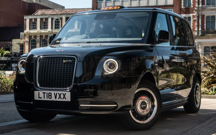 Sunday Times Motor Awards 2019 Best British-Built Car of the Year. LEVC TX Taxi